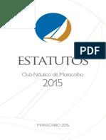 Estatutos Club Nautico de Maracaibo.