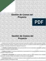 Gestión del costo del proyecto PMP