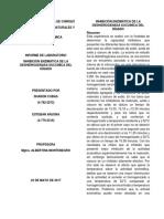 Inhibición Enzimática de La Deshidrogenada Succiníca Del Hígado