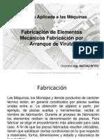 Procesos de Fabricación de Elementos Mecánicos