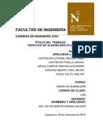 Informe Pila de Albañilería