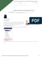 Facebook _ Examinez Ce Que Les Autres Peuvent Voir de Votre Journal _ SUPINFO, École Supérieure d'Informatique