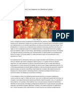 El Ascenso de China y Su Impacto en América Latina