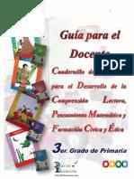 3° DOCENTE DESARROLLO DE LA COMPRENSION LECTORA, PENSAMIENTO MATEMÁTICO Y LA FCYE