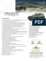 Forester 2.5i-s Es (Ww) 2019