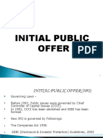 Initial Public Offer (Ipo)