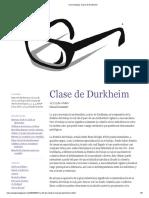 Mi Sociología_ Clase de Durkheim