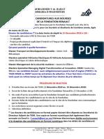 Bourses Fondation Renault Edition 2018-EMI