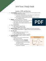 bio 1010 term 2 study guide