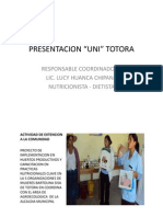 Presentación Totora