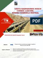 Propuesta Raspadores Hosch Correa 220cv06 Minera Gaby