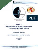 Informacion Diagnóstico Integral de La Mama Por Imagenología Médica