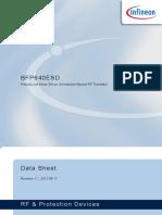Hoja de Datos Infineon-bfp640esd