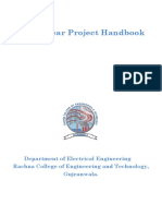 Final Year Project Handbook (Session 2016)