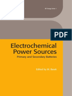 Electrochemical power sources _ primary and secondary batteries