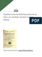 Armonía - Wikipedia, La Enciclopedia Libre
