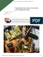 Volt Digital y Medidor de Amplificador Con Control de Temperatura - Electrónica-Lab