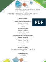 Informe de Laboratorio Practica 1 y 2 Quimica Organica