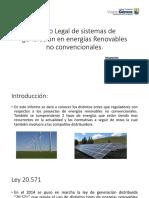 Marco Legal de Sistemas de Generación en Energías (Chile)