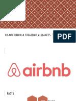 Strategic Alliances & AirBnB Case