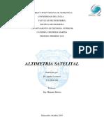 ALTIMETRIA SATELITAL