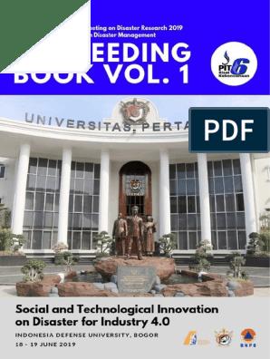 Final Proceeding Icdm 2019 Volume 1 Psychological Resilience Cloud