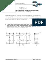 P3 Control de Avance y Retroceso Electroneumatico