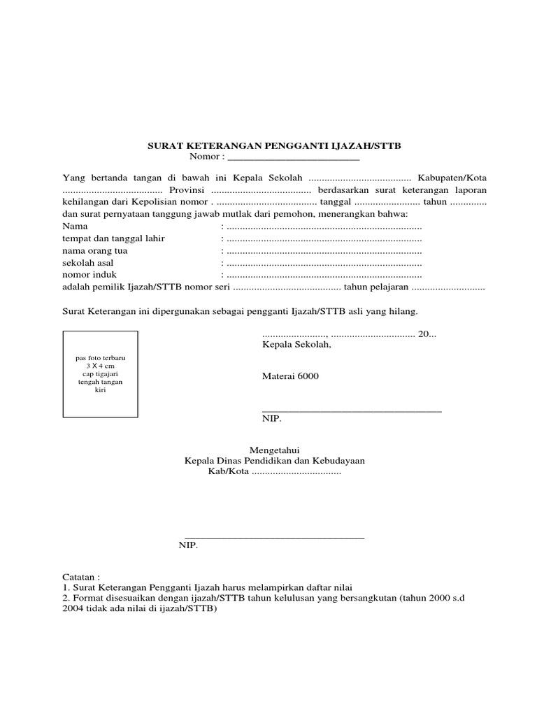 Administrasi Surat Dalam Ijazah