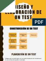 4. Diseño y Elaboración de Un Test (1)
