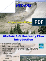 MODULE 10 HECRAS Unsteady Flow Introduction 2016
