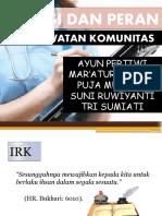 FUNGSI PERAN  KOM1.pptx