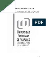 UAA Estatuto Organico Universidad