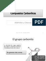 Compuestos Carbonílicos, 2019