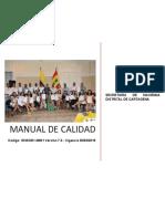 Manual de Calidad Shd 2019
