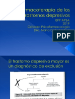 Farmacoterapia de trastornos depresivos