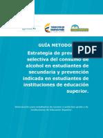 Guia Metodologica Estrategia Alcohol 1