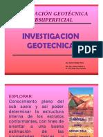 investigacion geotecnica