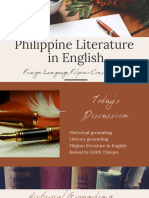 Philippine Literature in English