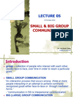 Lecture 05 small  big group.ppt