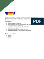 Audacity Es Una Aplicación Informática Multiplataforma Libre