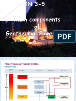Geothermal Power Plant Equipment