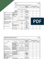 Cronograma Salud Ocupacional 2007