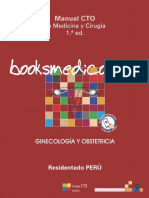 Manual CTO Peru Ginecologia y Obstetricia