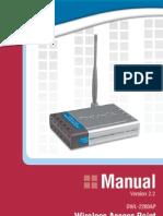 Manual Dwl 2200ap