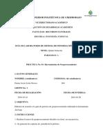 Informe SIG  5to Forestal