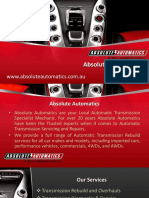 Automatic Transmission Mordialloc Bayside Area Melbourne, Beaumaris, Parkdale - Absolute Automatics