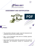 assessment Certification