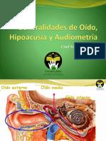 Generalidades de Oído, Hipoacusia y Audiometría (1).pptx