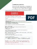 Instalando o Zabbix No Centos 6