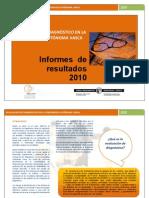 Evaluación diagnóstica de las CCBB en el País Vasco_Informe de resultados 2010